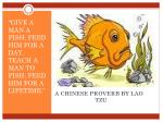 a chinese proverb by lao tzu