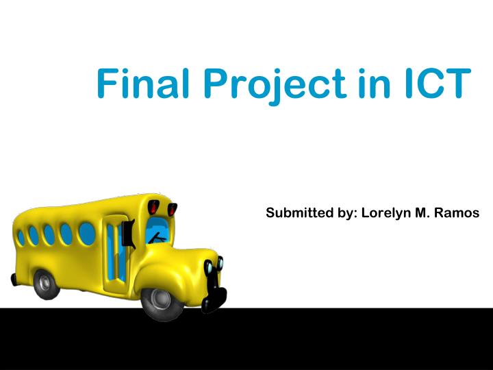 final project in ict n.