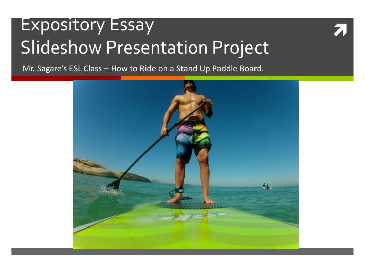 expository essay slideshow presentation project n.