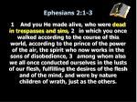 ephesians 2 1 3