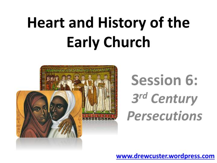 heart and history of the early church n.
