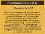 ephesians 5 5 10