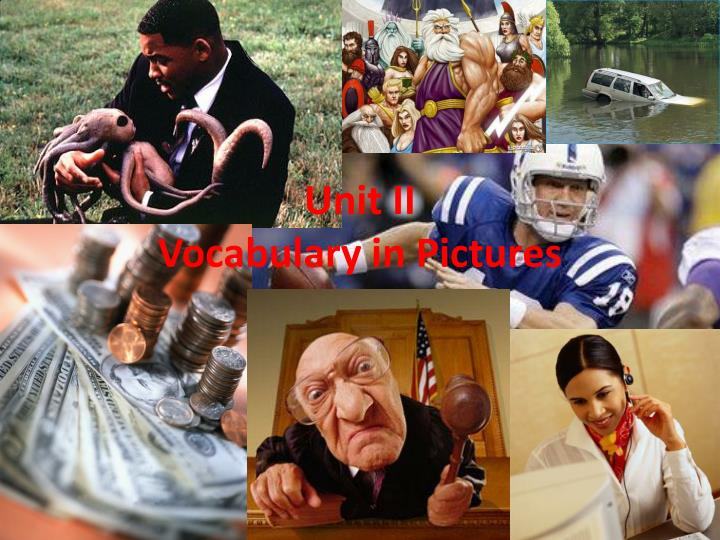 unit ii vocabulary in pictures n.