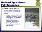 national agriscience fair categories1