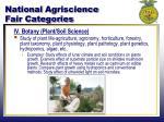 national agriscience fair categories3