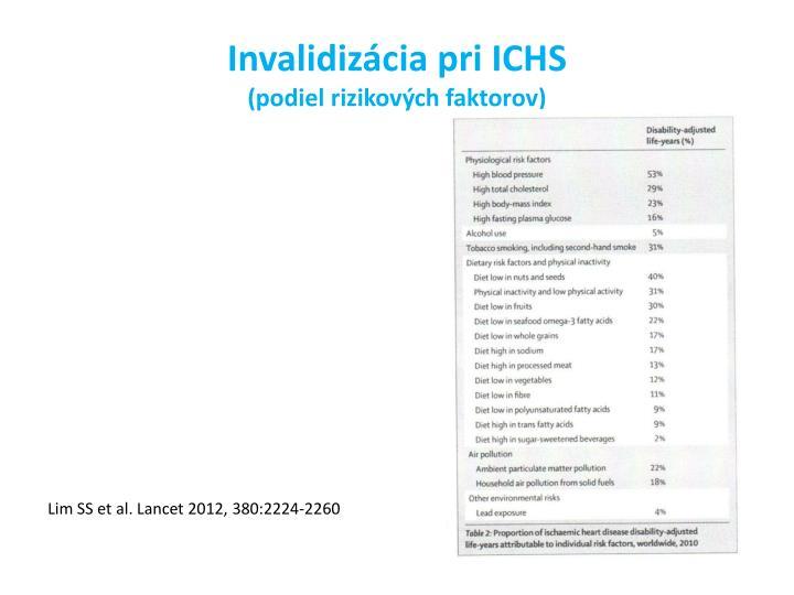Invalidizácia pri ICHS
