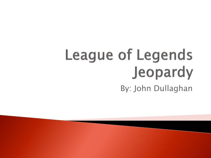league of legends jeopardy n.
