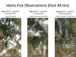 idaho fire observations past 48 hrs