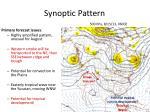synoptic pattern