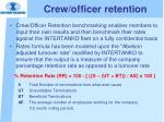 crew officer retention