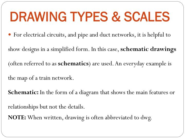 PPT - DRAWINGS PowerPoint Presentation - ID:2107546