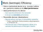 work isentropic efficiency1