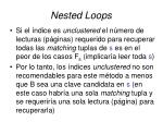nested loops13