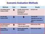 economic evaluation methods