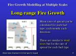 fire growth modelling at multiple scales21