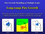 fire growth modelling at multiple scales24