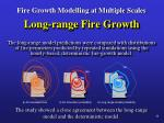 fire growth modelling at multiple scales26