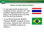 office of international affairs1