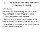 3 the roles of husband and wife ephesians 5 22 331