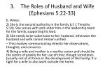 3 the roles of husband and wife ephesians 5 22 334
