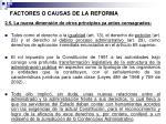 factores o causas de la reforma5