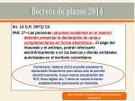 decreto de plazos 201413