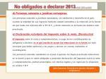 no obligados a declarar 2013 d r 2972 de 20131