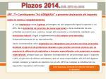 plazos 2014 d r 2972 de 20136