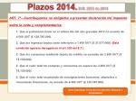 plazos 2014 d r 2972 de 20137