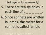 bellringer for review only2