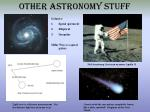 other astronomy stuff