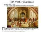high artistic renaissance1