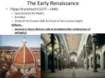 the early renaissance1