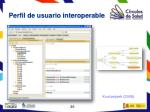 perfil de usuario interoperable