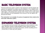 basic television system