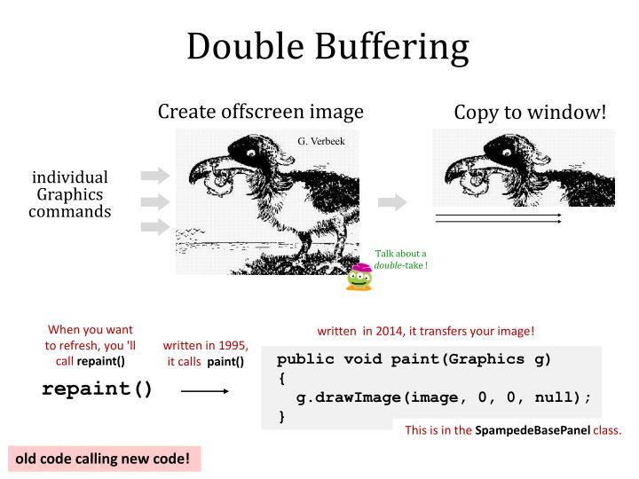 Double Buffering