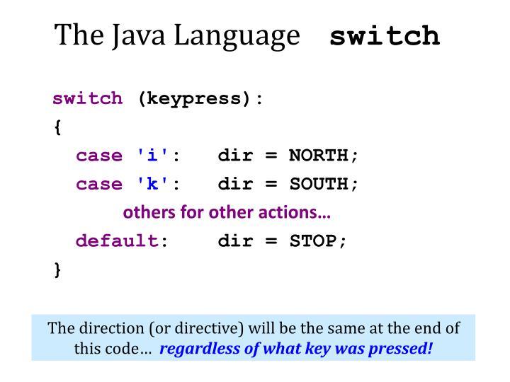 The Java