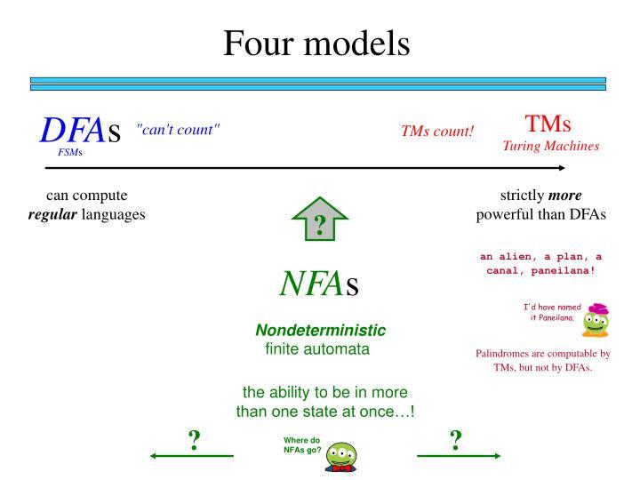 Four models