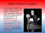 father charles e coughlin