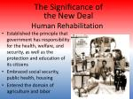 human rehabilitation