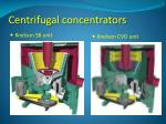 centrifugal concentrators5