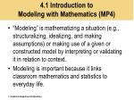 4 1 introduction to modeling with mathematics mp4