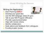 grant writing for success1