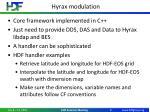 hyrax modulation