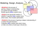 modeling design analysis