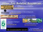 other zoo related resources