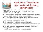 good start grow smart standards and curiosity corner goals2