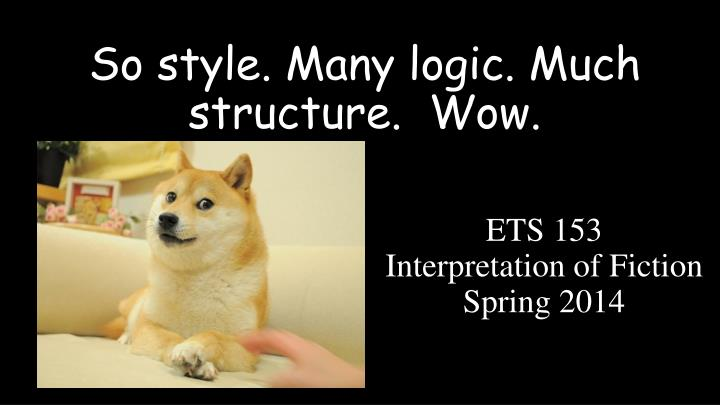 so style many logic much structure wow n.