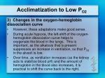 acclimatization to low p o25