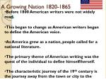 a growing nation 1820 1865